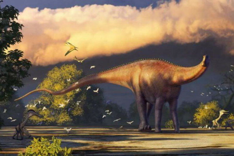 Огромный динозавр из Узбекистана оказался двоюродным братом диплодока