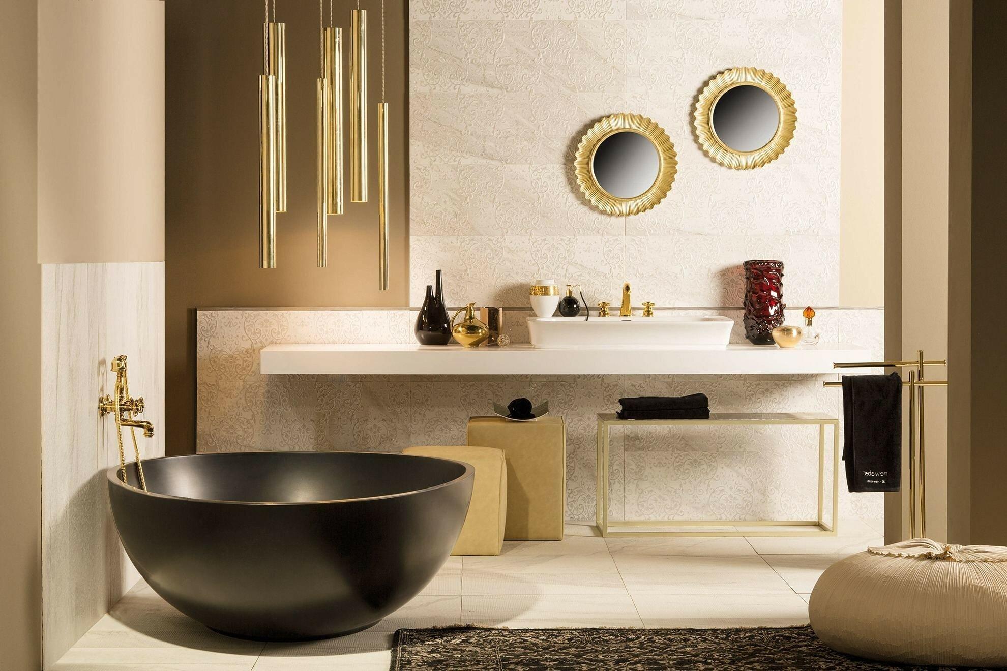 Популярный дизайн ванной комнаты 2021