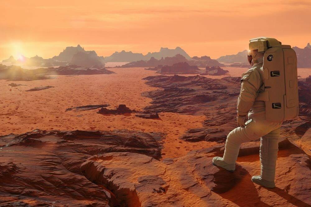 Названы сроки появления на Марсе города-миллионника