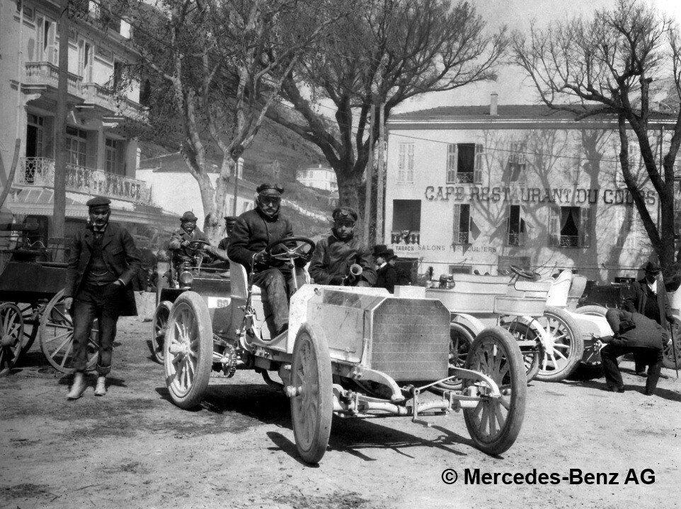 Cамый первый автомобиль Mercedes отпраздновал 120 лет
