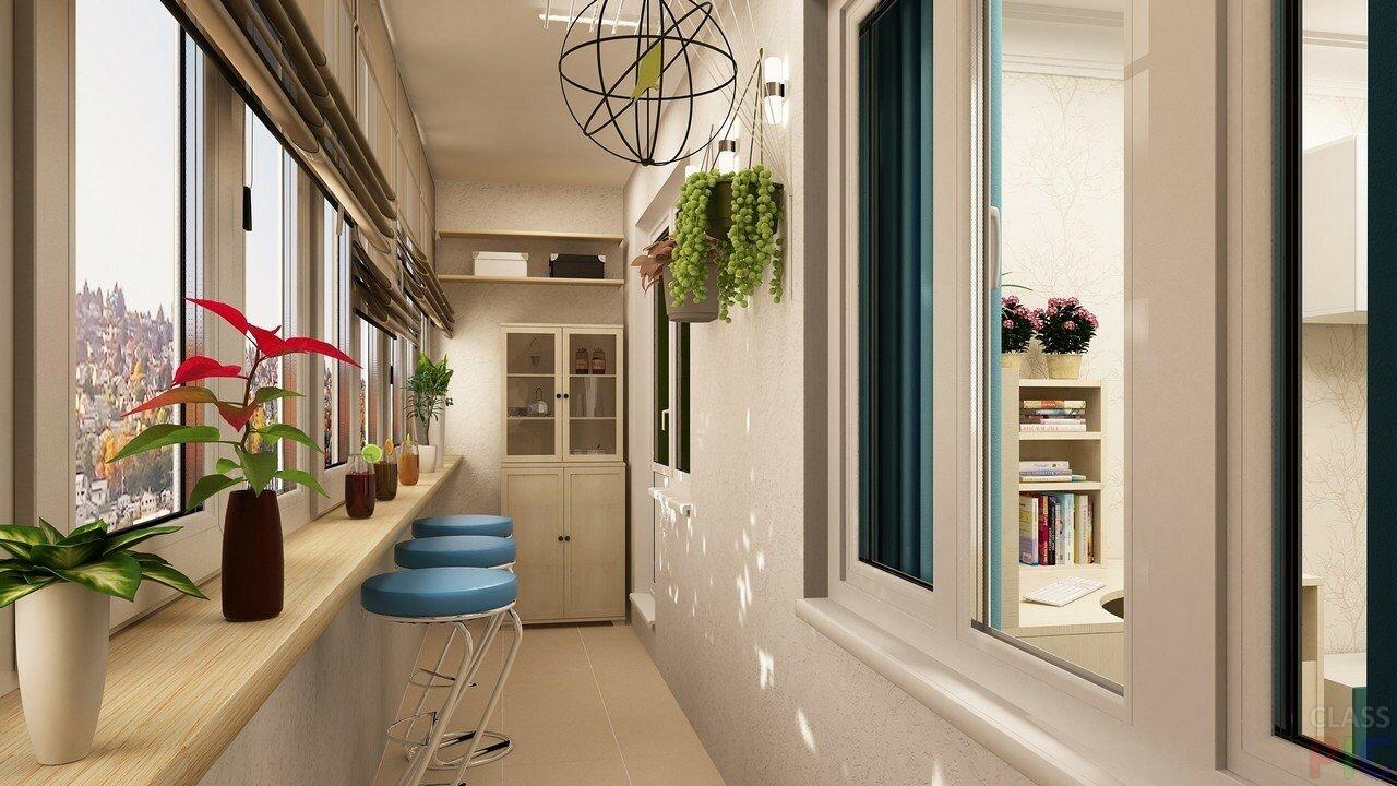 Пять идей обустройства балкона