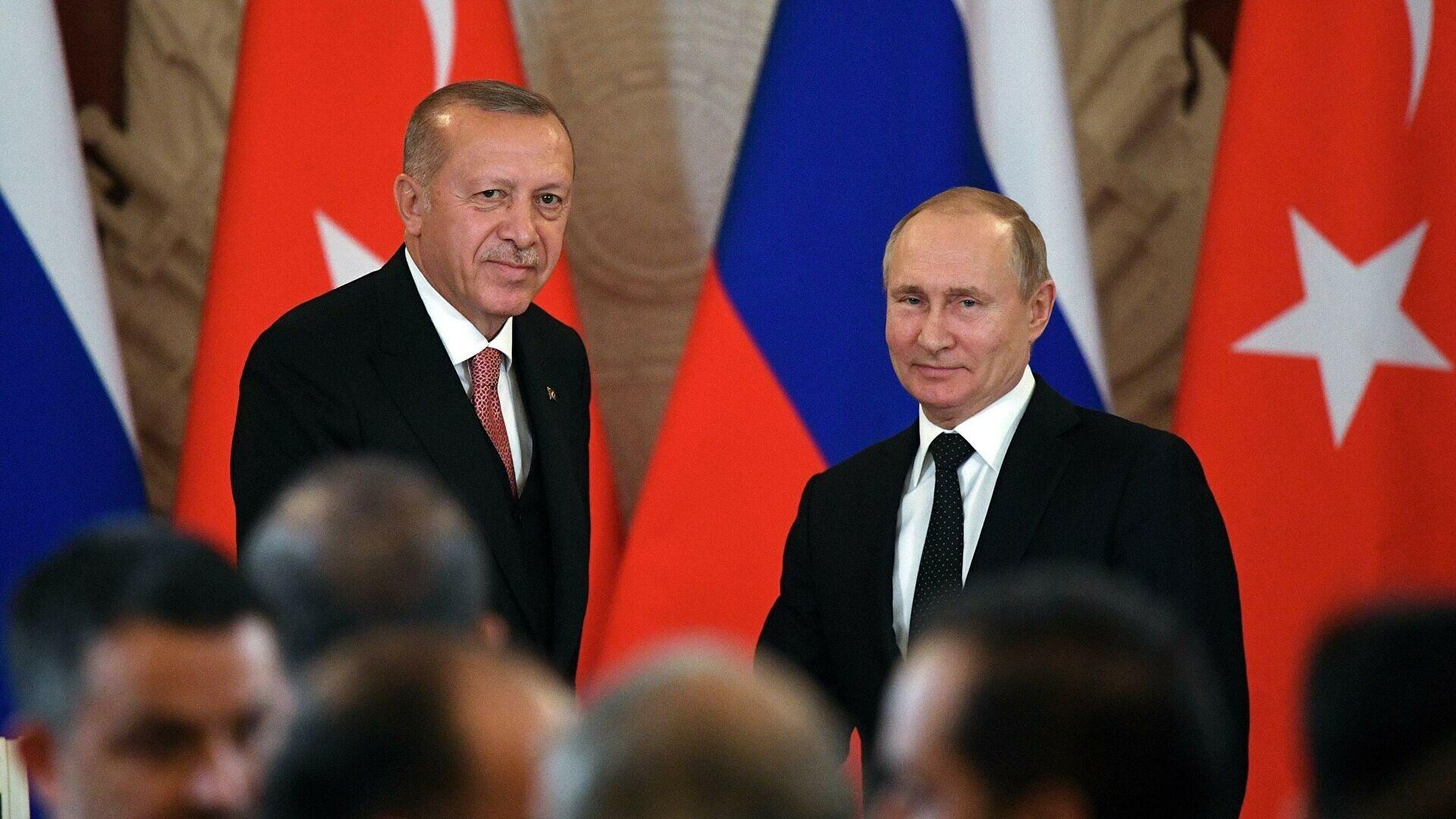 Путін та Ердоган об'єднались проти Заходу