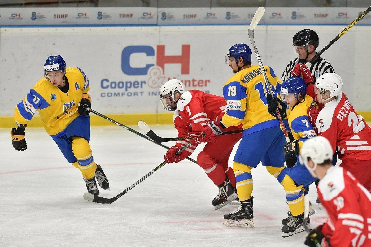 Хоккей: отменен матч сборных Украины U-18 и Польши U-18
