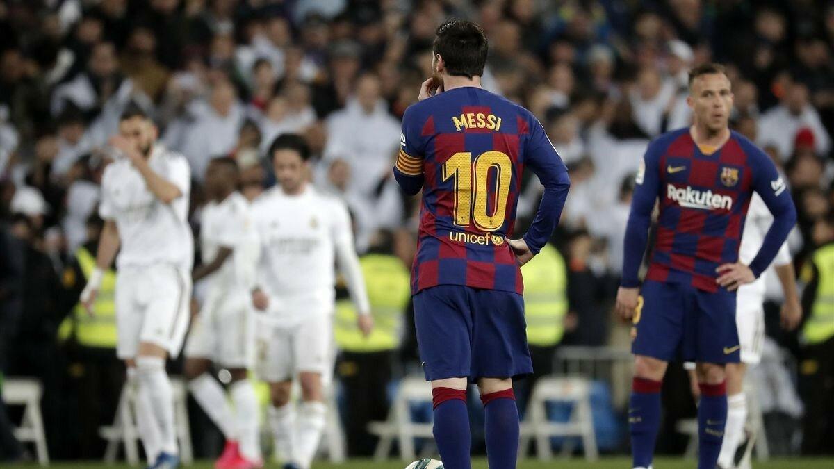 """В матче """"Реал"""" — """"Барселона"""" внезапно сменился главный арбитр"""
