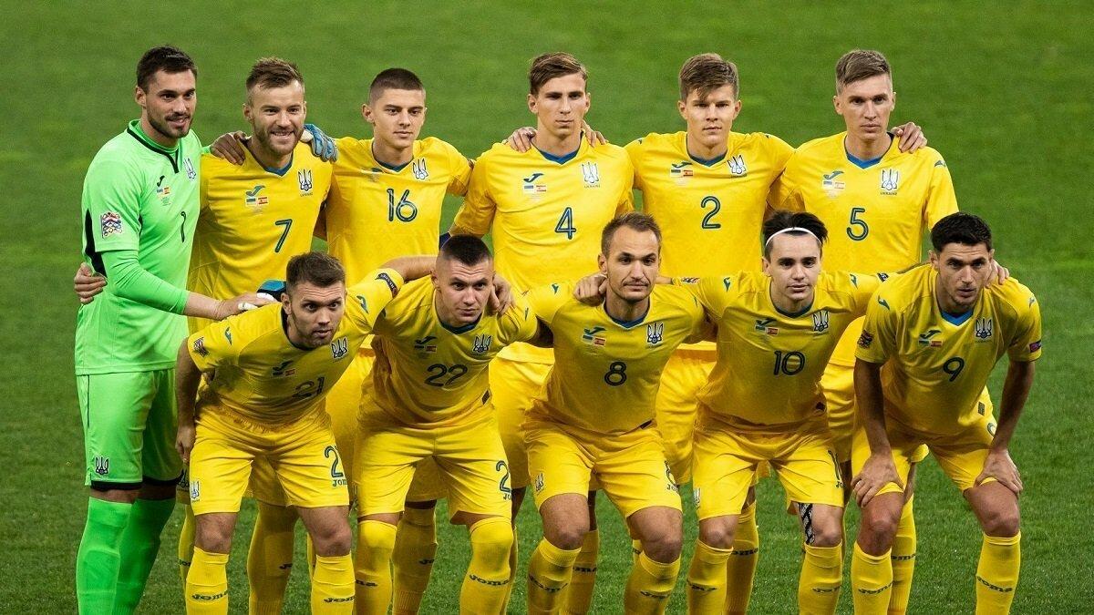Сборная Украины узнала свое место в рейтинге ФИФА