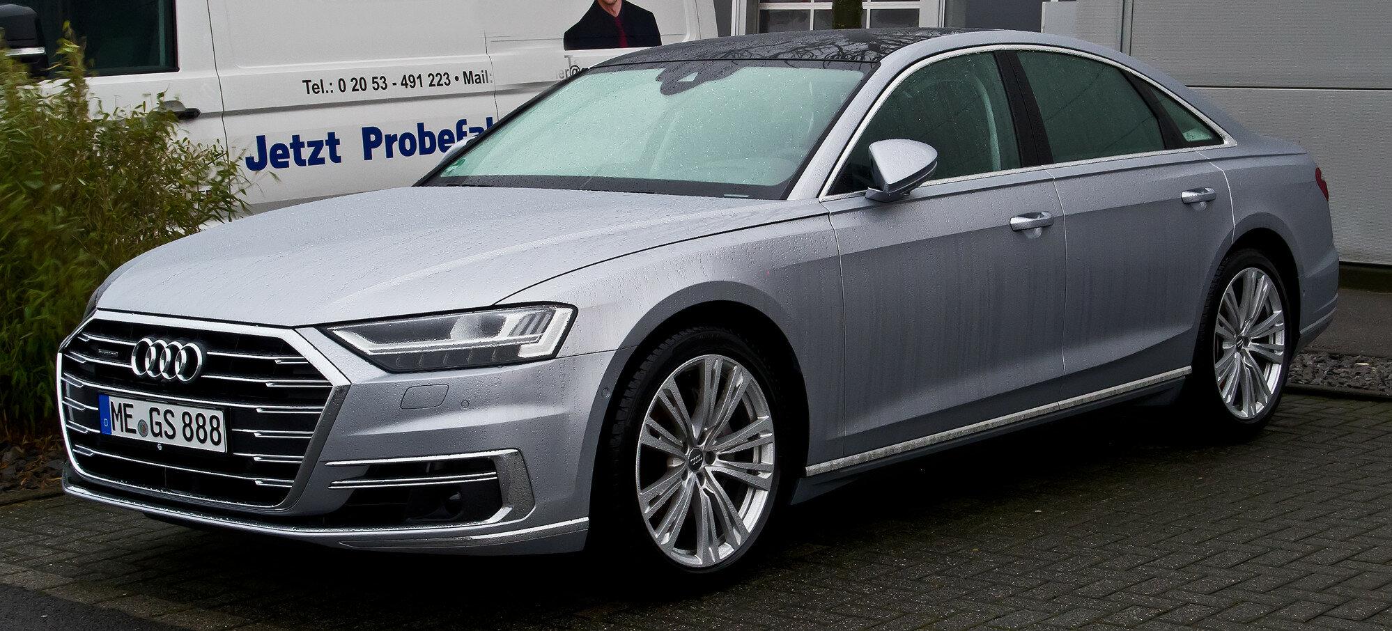 Обновленный Audi A8 получит версию XL и поборется с Mercedes-Maybach