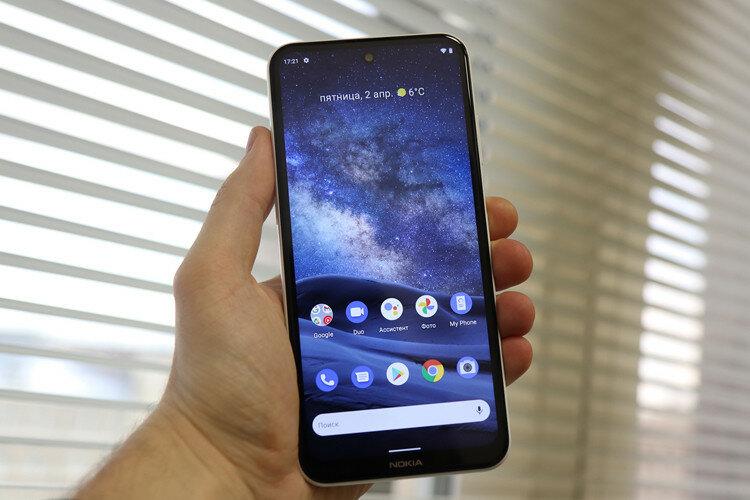 Nokia представила новые смартфоны