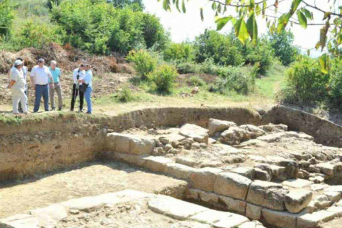 Обнаружен древний город времен Александра Македонского