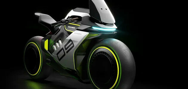 Segway представила футуристический мотоцикл