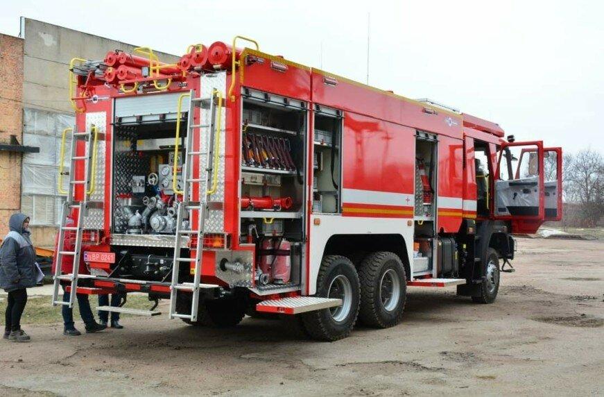 Для Миниобороны построен интересный пожарный автомобиль