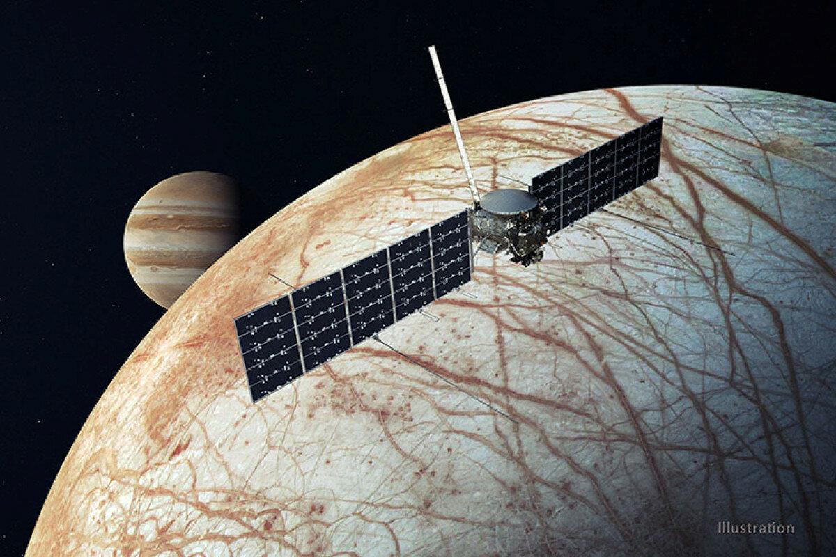 """NASA начали готовить миссию к """"Европе"""""""