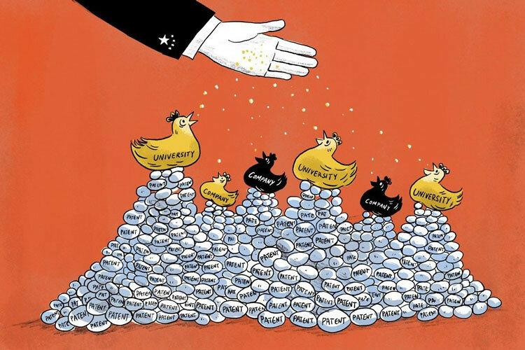"""Китай завалил мир """"мусорными"""" патентами"""