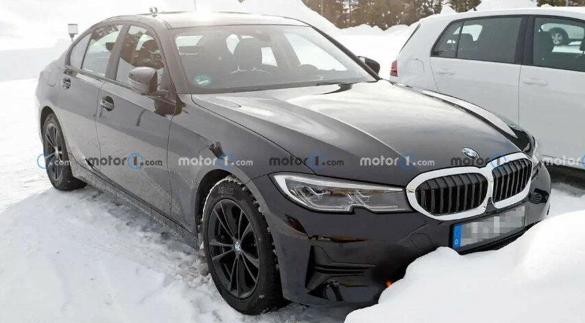 Обновленный BMW 3-й серии заметили на тестах