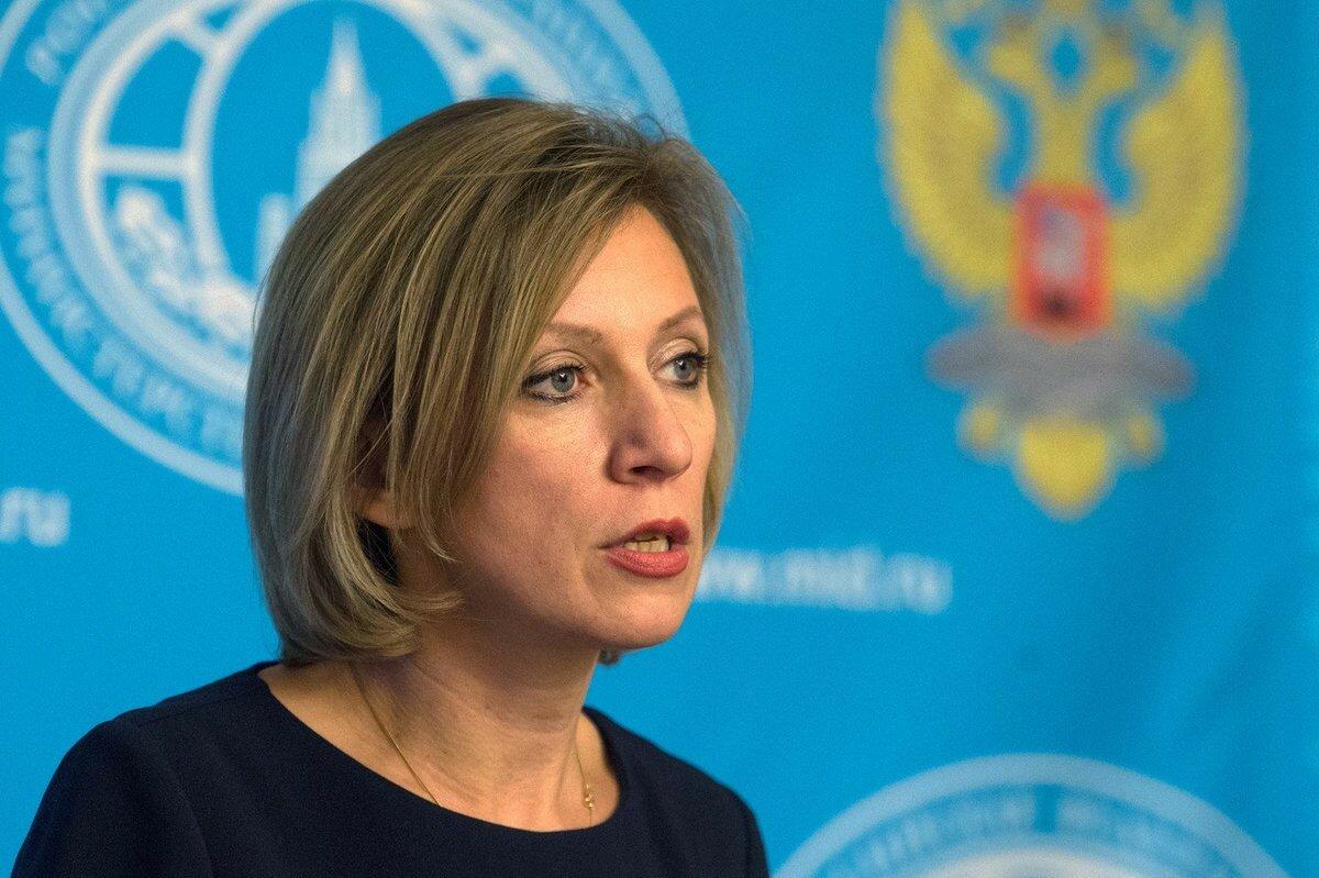 """Захарова призывает Украину и НАТО  прекратить """"русофобскую кампанию"""""""