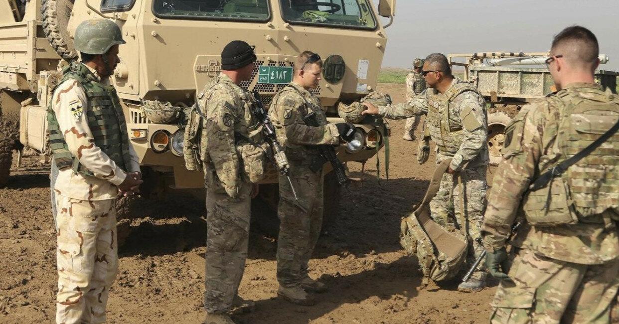 В Ираке атаковали военную базу США