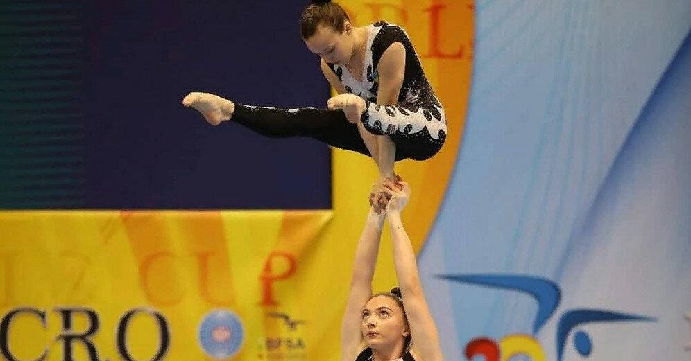 Украинцы завоевали Кубок мира по спортивной акробатике