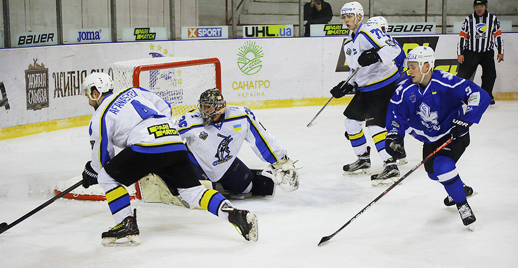Сокіл знищив чемпіона і став першим фіналістом УХЛ