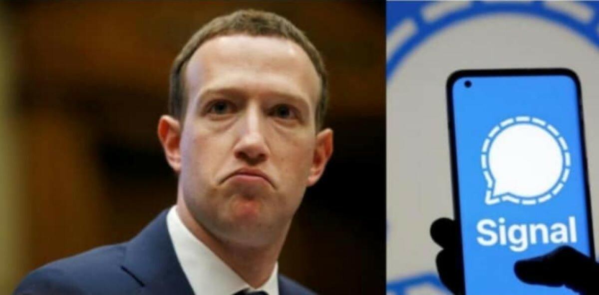 "Марк Цукерберг ""перешел"" на мессенджер Signal"