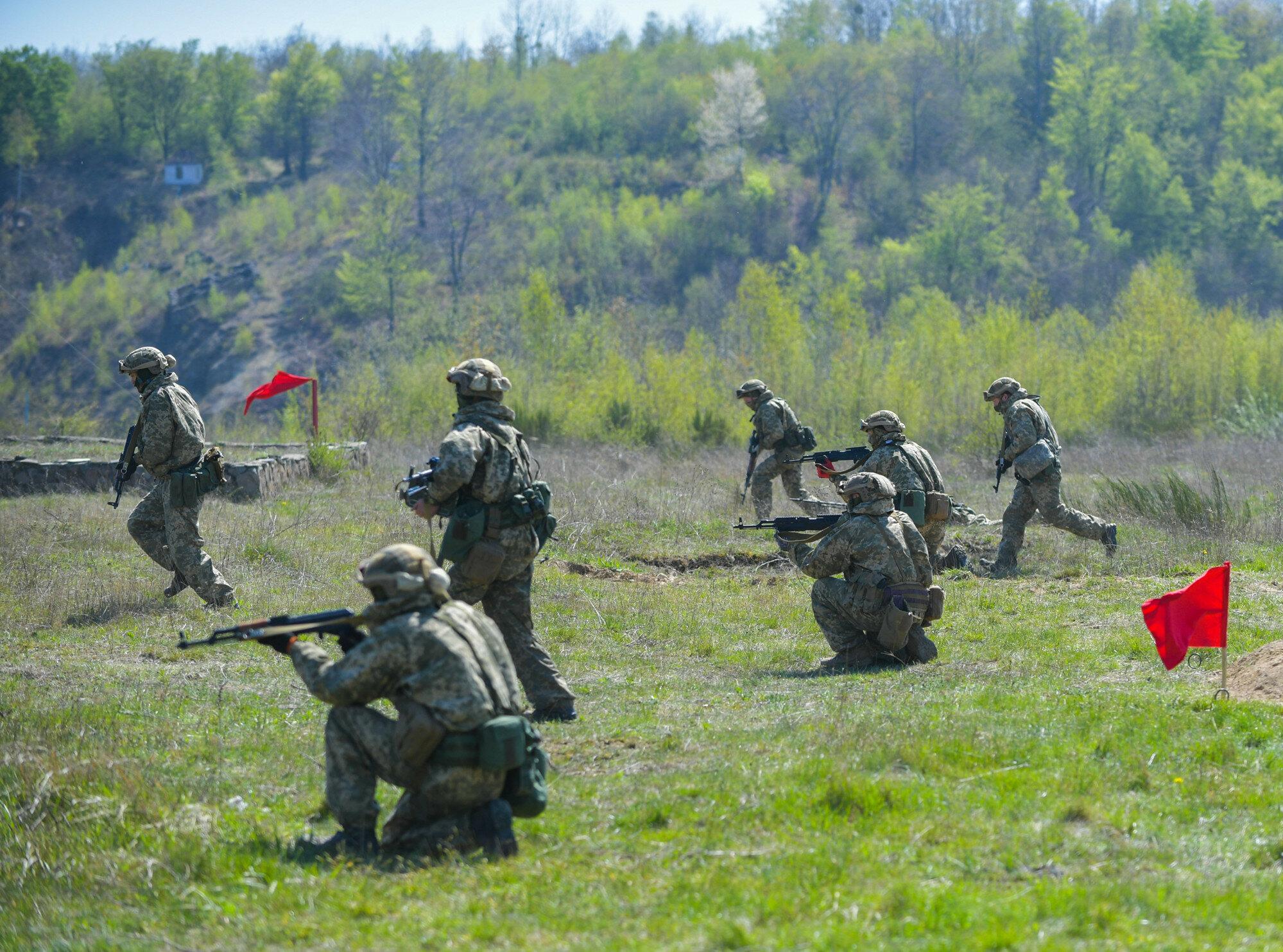 В сеть выложили фото лагеря российских войск под Воронежем