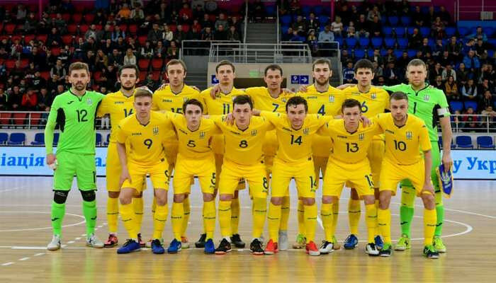 Сборная Украины разгромила Данию в отборе Евро-2022 по футзалу