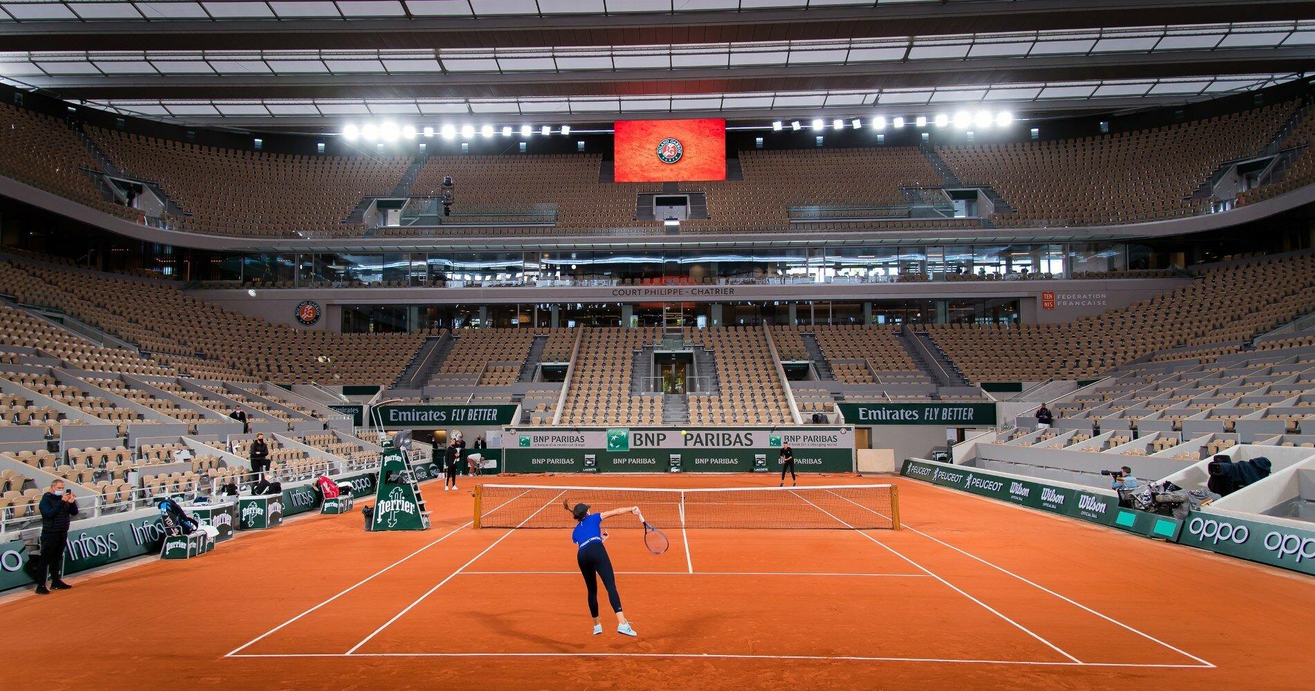 Открытый чемпионат Франции по теннису официально перенесли