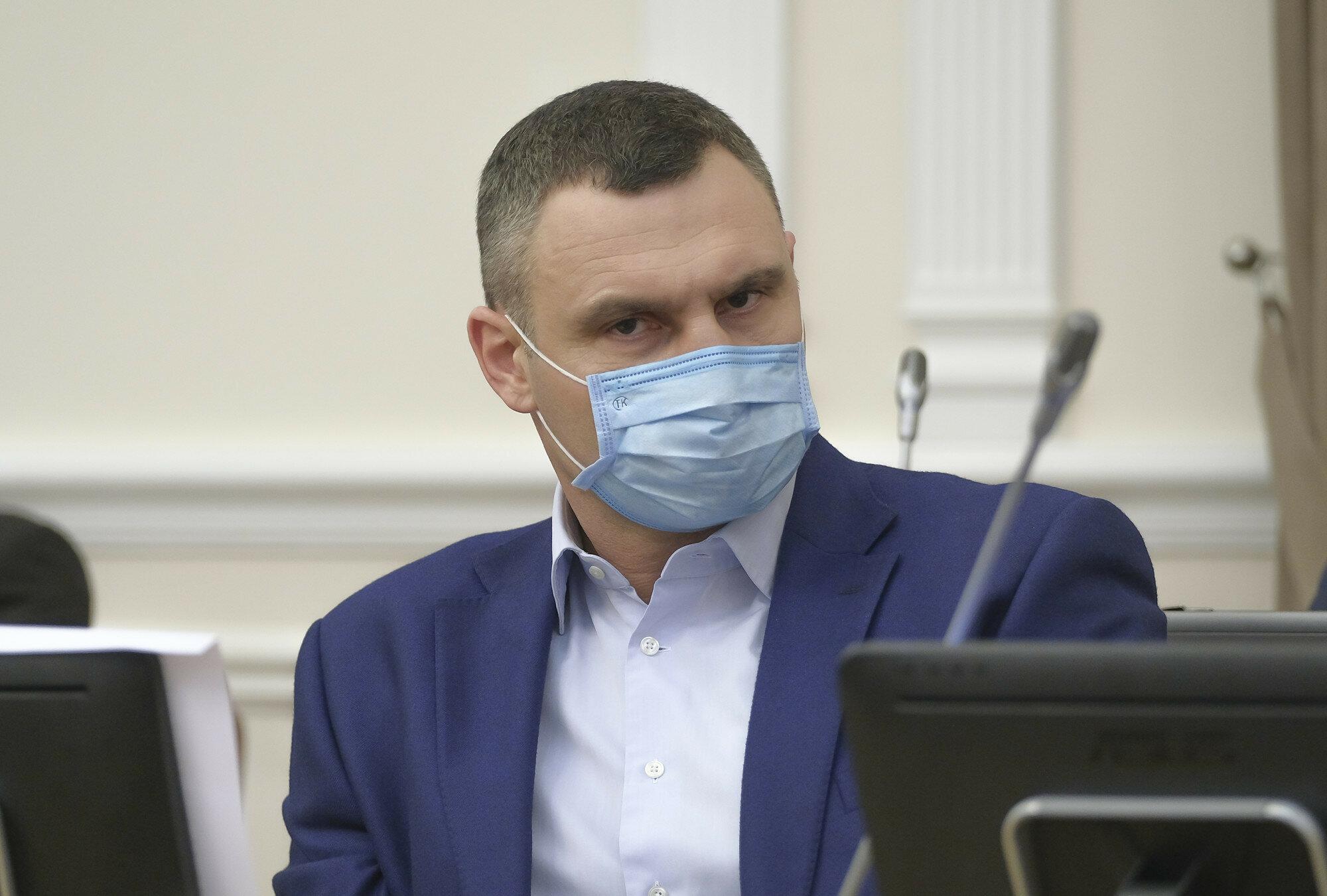 Кличко посетил столичную больницу и показал ситуацию