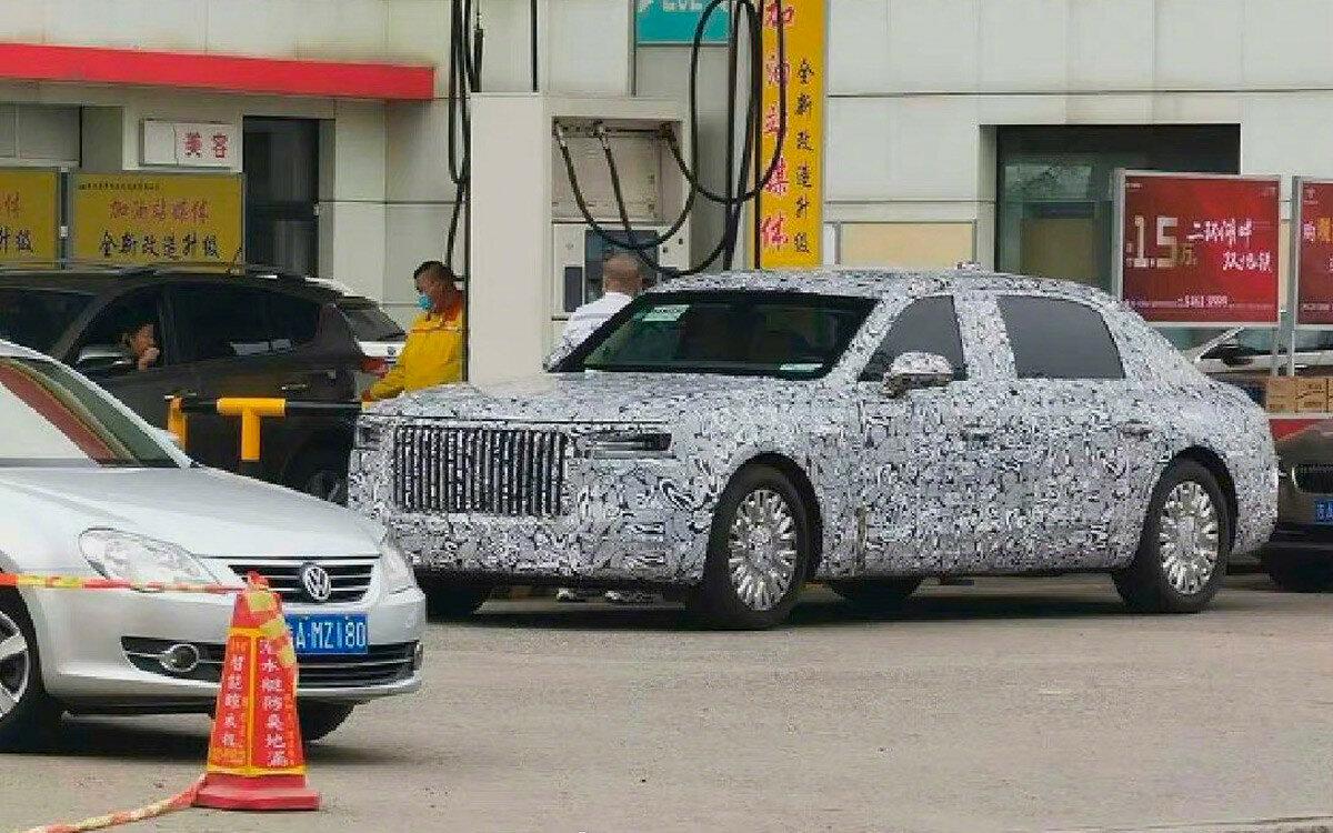 Hongqi начала испытания нового правительственного автомобиля
