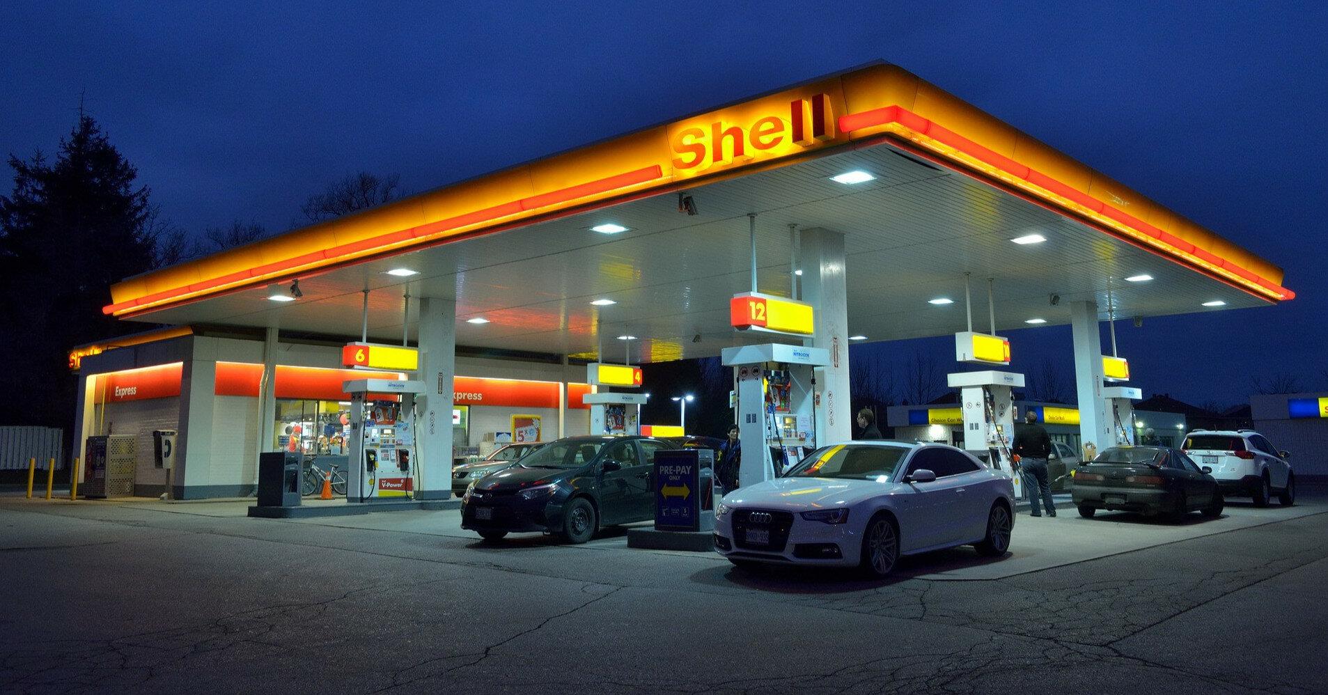 Shell прекращает круглосуточную работу некоторых АЗС