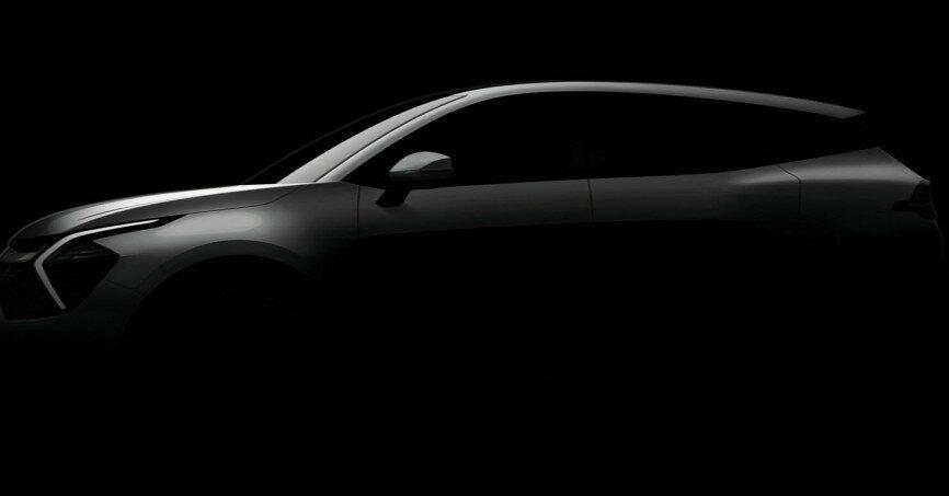 Новый Kia Sportage впервые показали официально