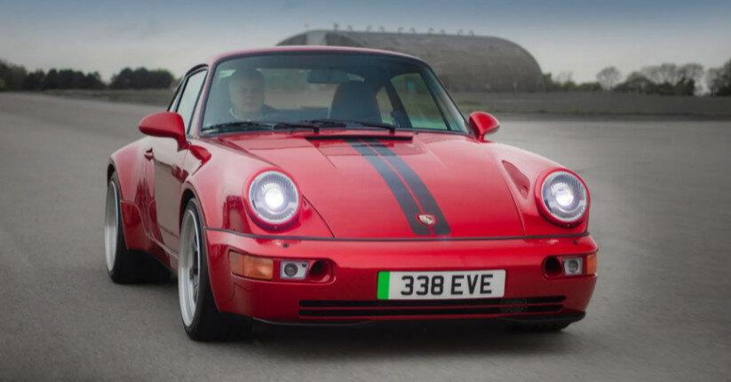 Porsche 911 превратили в электромобиль