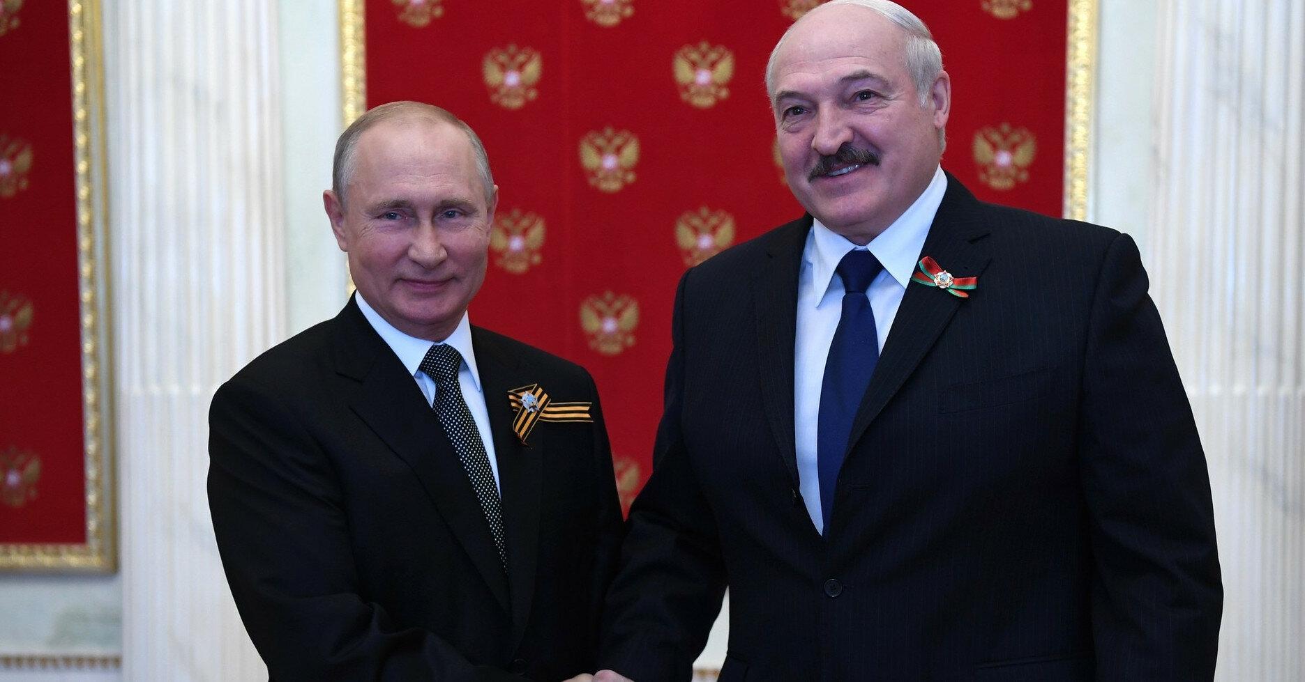 Встреча Путина и Лукашенко: о чем говорили диктаторы