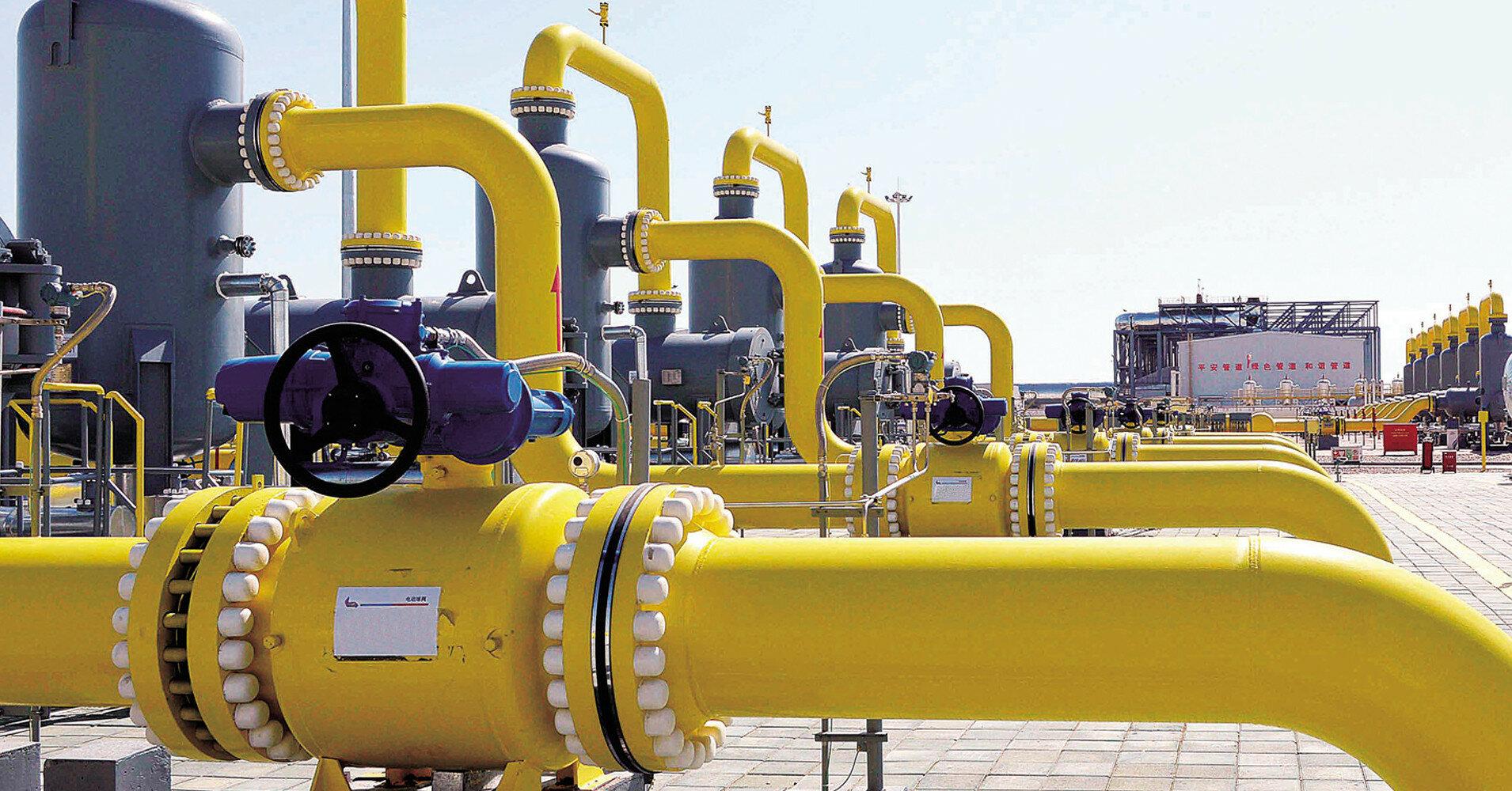 В Европе впервые зафиксировали сокращение запасов газа в хранилищах