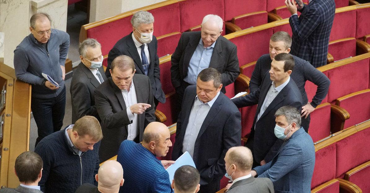 Левочкин против Мураева: ОПЗЖ избавляется от соперников