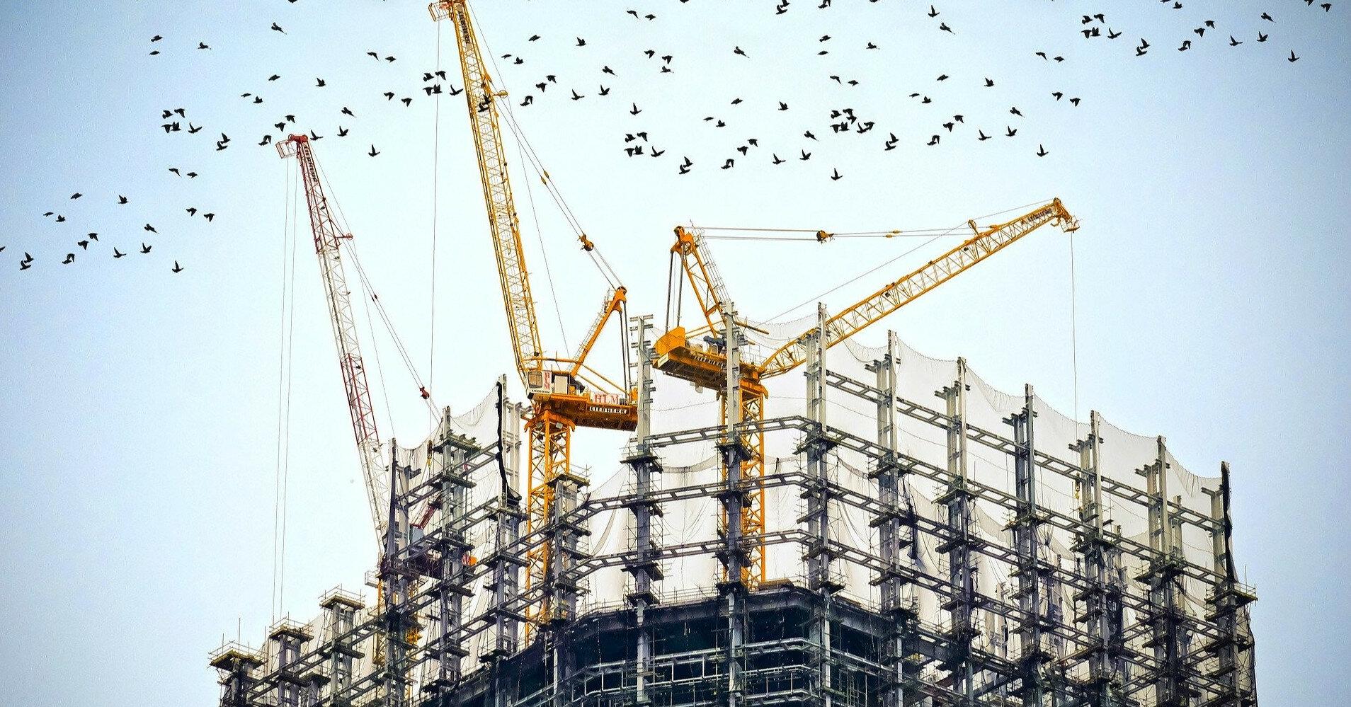 Строительство жилья в Украине выросло на 40%