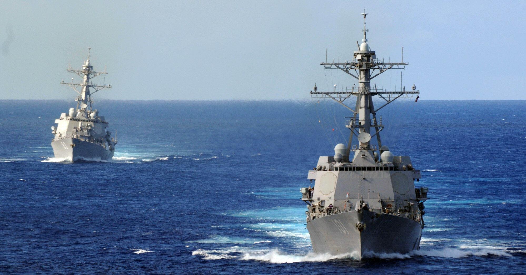 Россия, Украина и США могут схлестнуться в Черном море