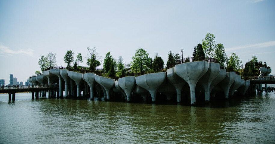 В Нью-Йорке открыли новый футуристический парк