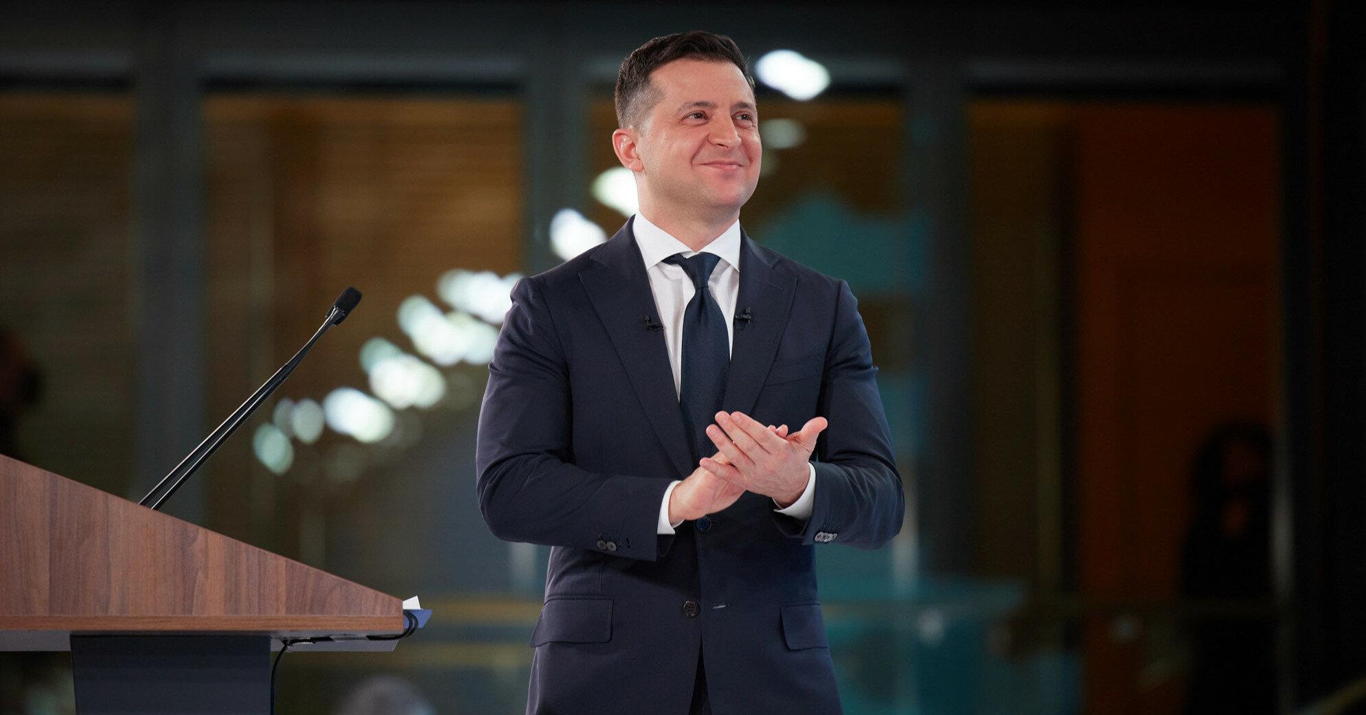Президентский рейтинг Зеленского вырос