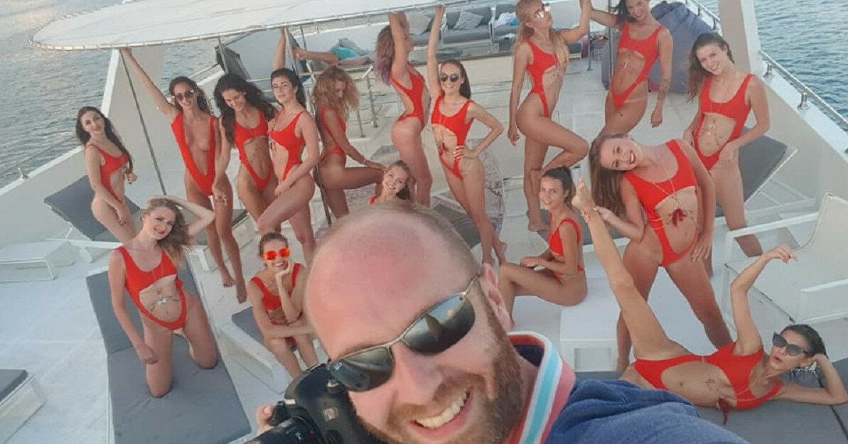 """Появилось видео с порно-вечеринки, предшествовавшей """"голой фотосесии"""" в Дубае"""