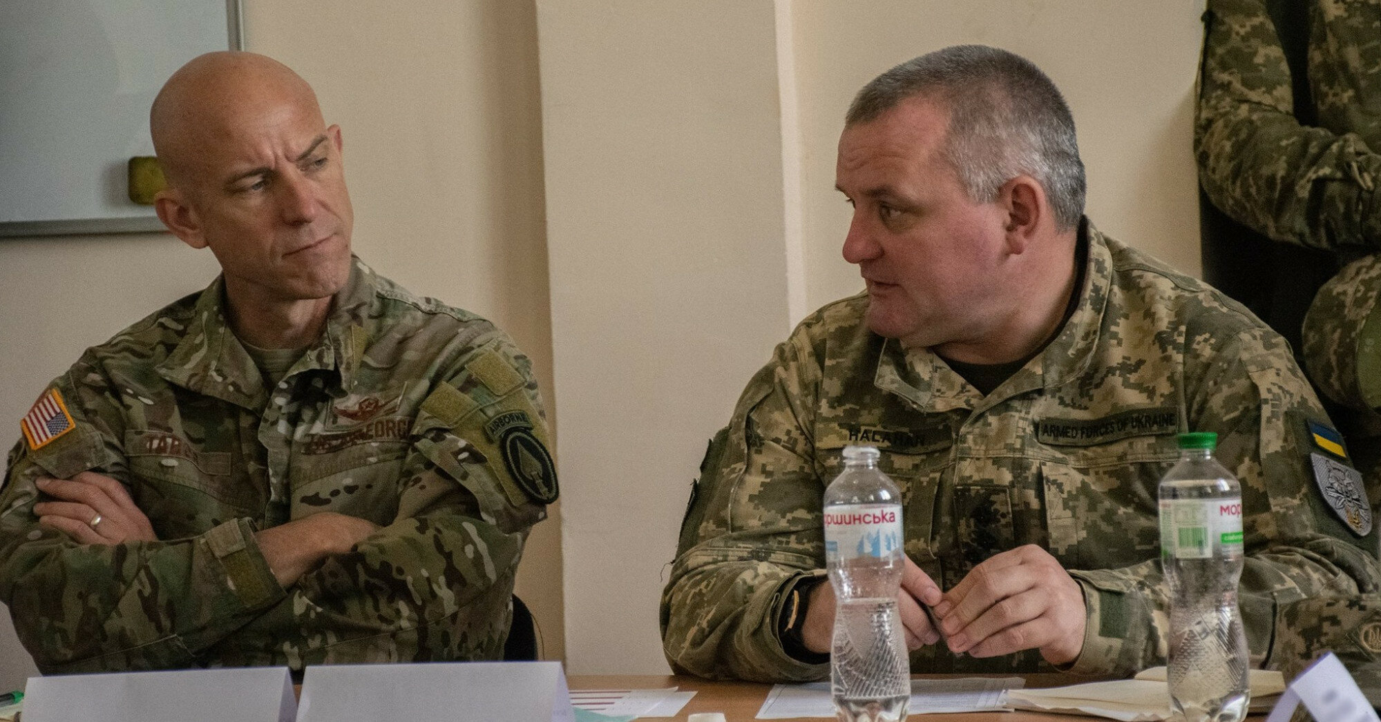 Командующий ССО США в Европе посетил морской центр в Очакове