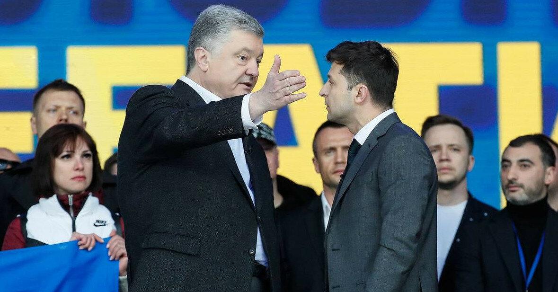 """""""Послал своих вуайеристов"""": у Порошенко обиделись на Зеленского"""