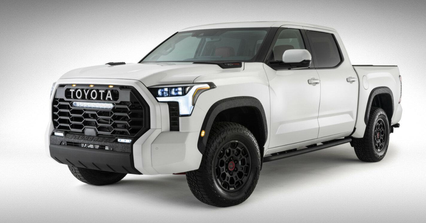 Toyota полностью раскрыла новый пикап Tundra 2021 на фото