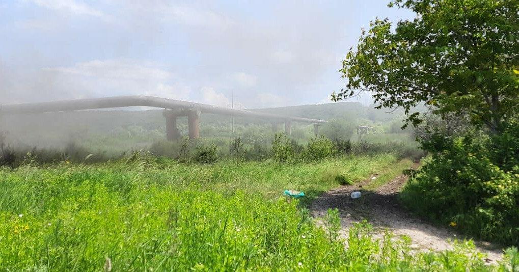 На Прикарпатье взорвался участок газопровода