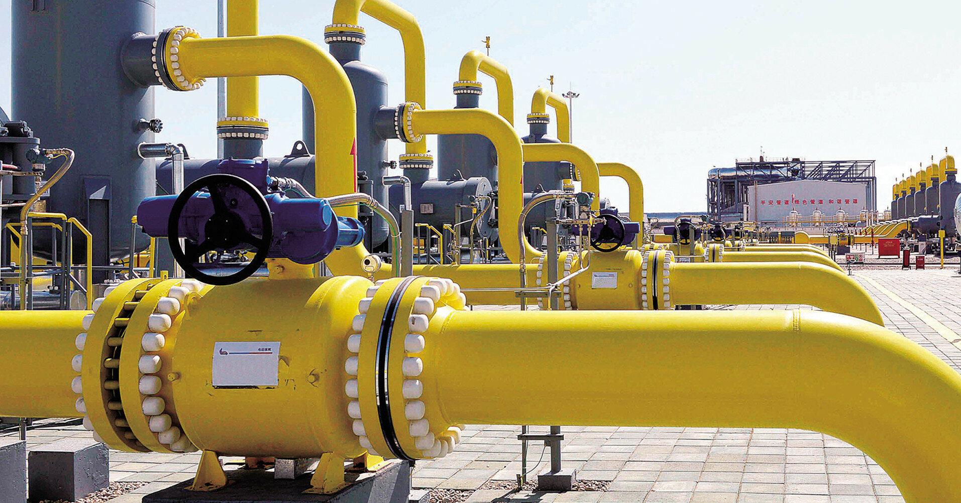 Украина нарастила транзит сжиженного газа