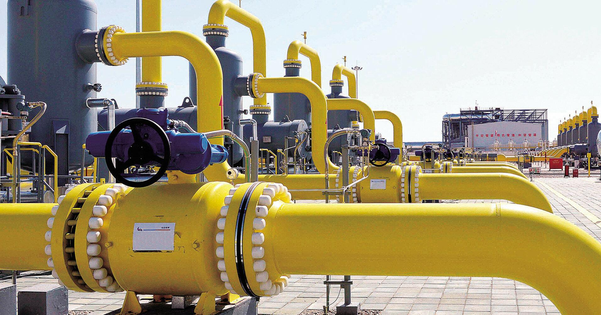 Украина сократила импорт газа в мае в 9 раз