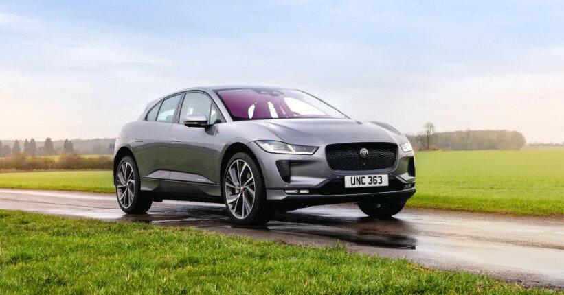 Jaguar представила обновленный кроссовер I-Pace