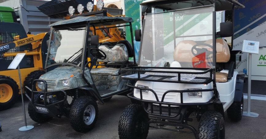 В Киеве показали электромобили для аграриев