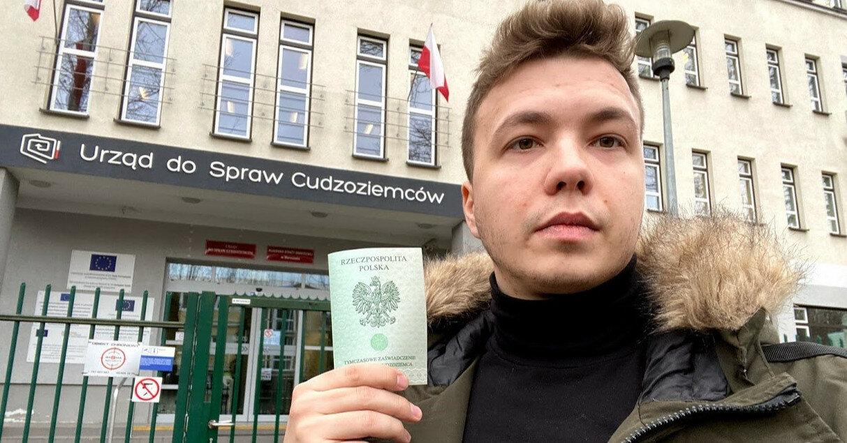 Протасевича выпустили из-под стражи