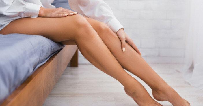 На что может указывать состояние кожи ног