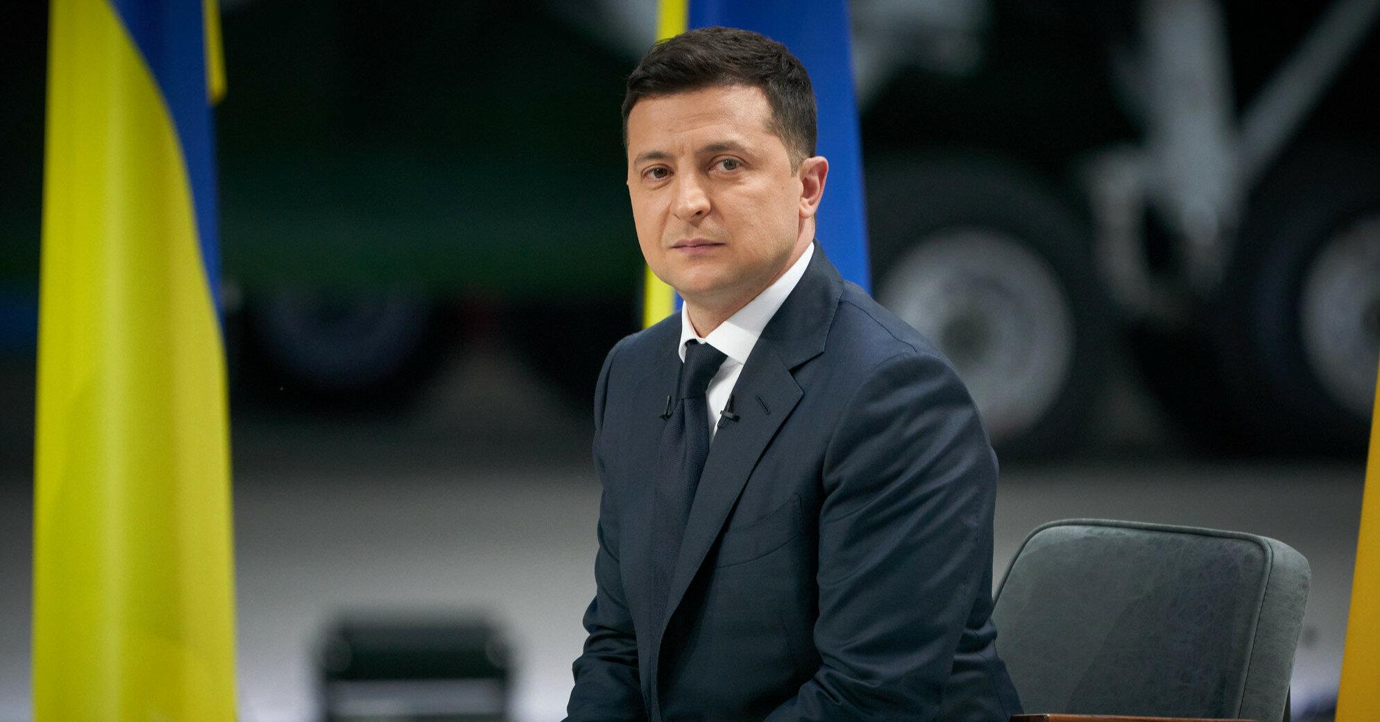 Зеленский ввел в действие решение СНБО о мирном урегулировании