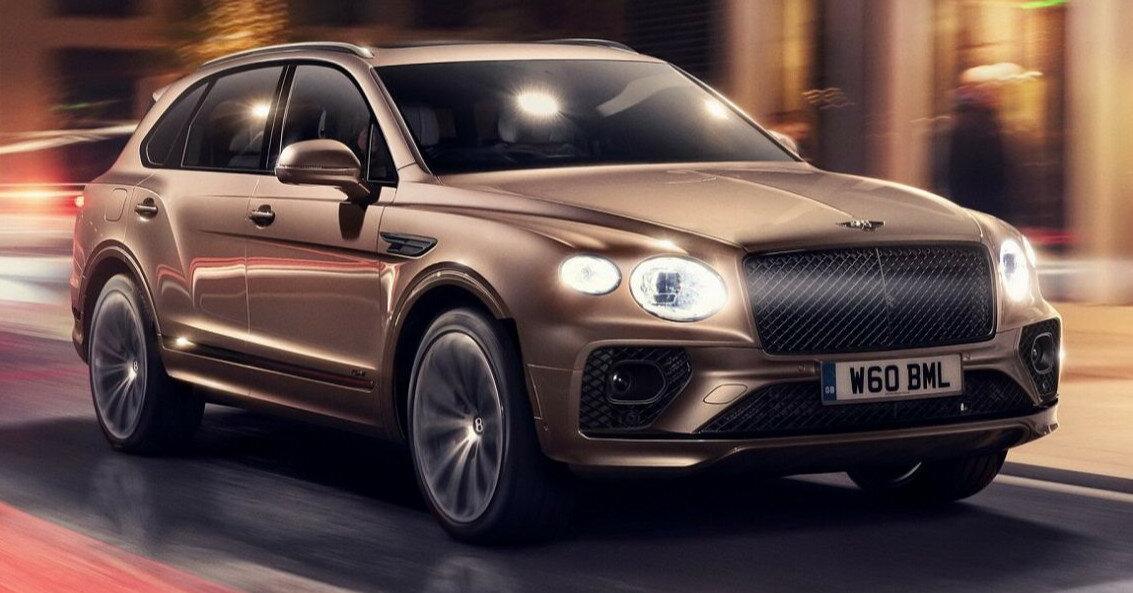 В Европе начинаются продажи обновленного гибрида от Bentley